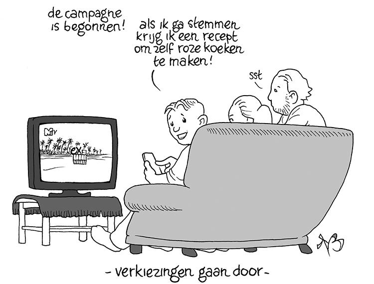 Verkiezingen gaan door – online